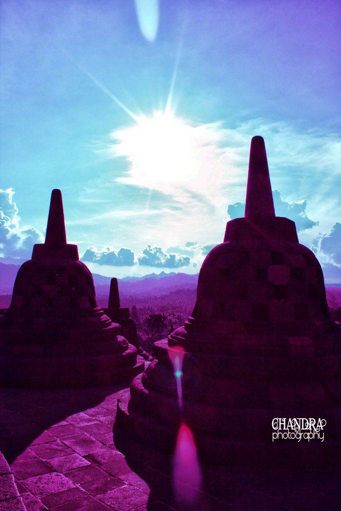 Borobudur Senja