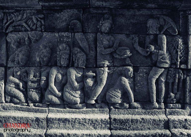 Borobudur Texture